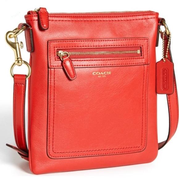 Coach Handbags - COACH LEGACY LEATHER CROSSBODY - AUTHENTIC
